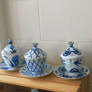 3 Bombay Cup and Saucer